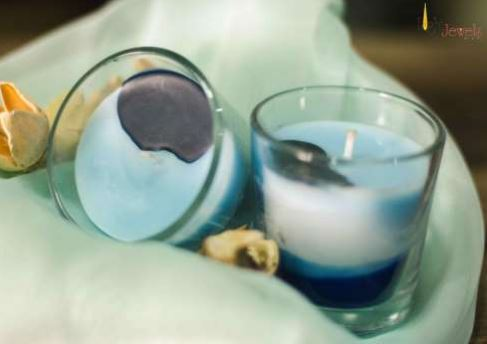 LJC Evil Eye Candles (Paraffin Wax) - set of 4 Flavours